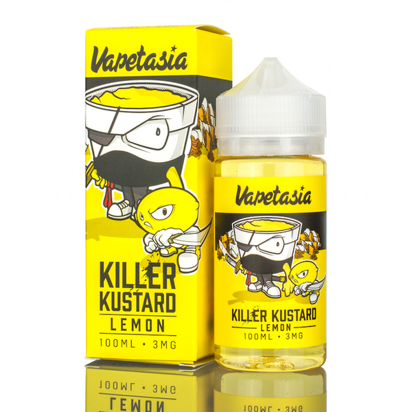 Vapetasia Killer Kustard Lemon 100ml - Vape Juice