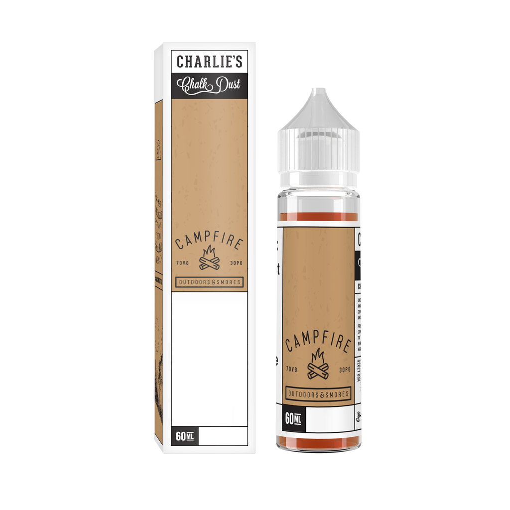 Charlie's Chalk Dust Campfire Smores 60ml - e juice