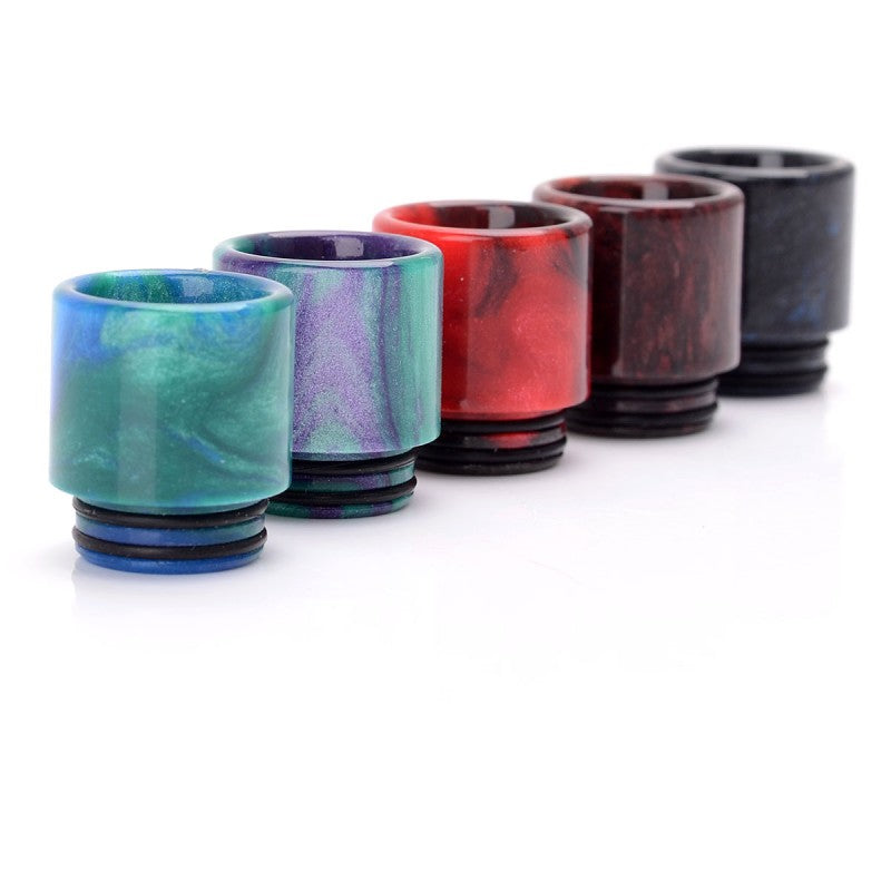 Wide Bore 18mm  Resin Drip Tip for ELLO/NRG