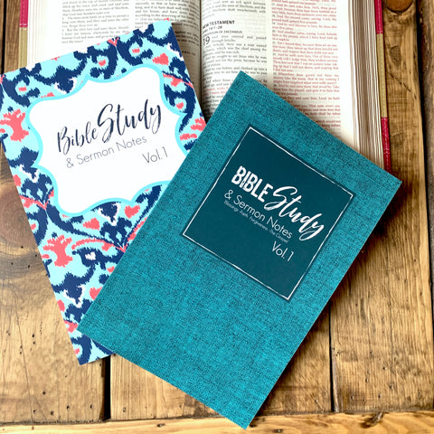 Men's Style Volume 1 Bible Verse Study and Sermon Notes-Journal Collection-CorrieLeeAnn'sBoutique