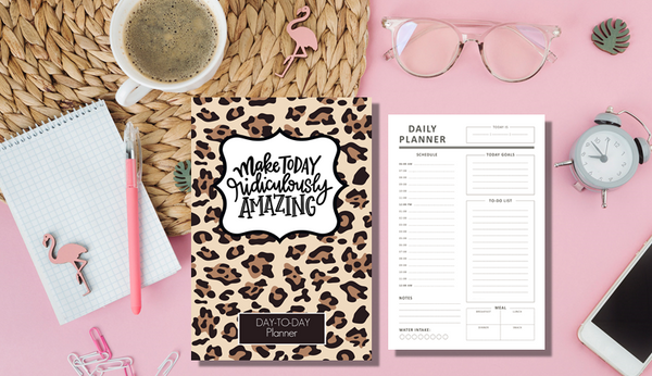 Daily Task Planner-Journal Collection-CorrieLeeAnn'sBoutique