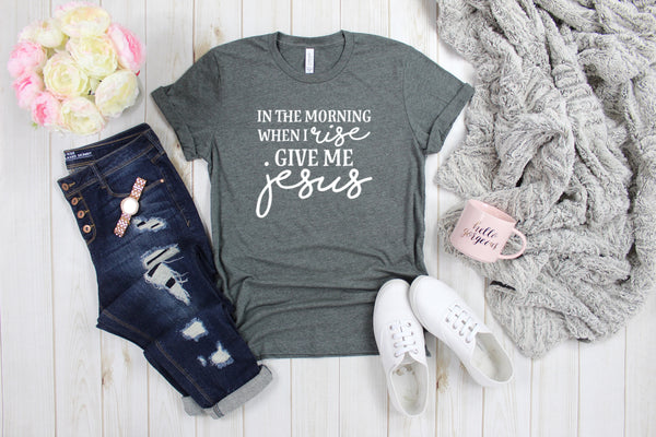 In the Morning when I rise| S-3X-Apparel-CorrieLeeAnn'sBoutique