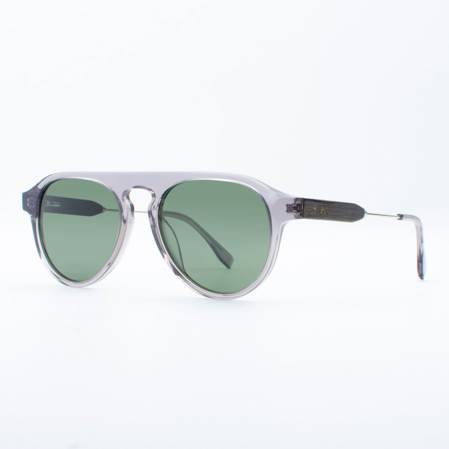 Wooden Sunglasses Amoli Grey Suki