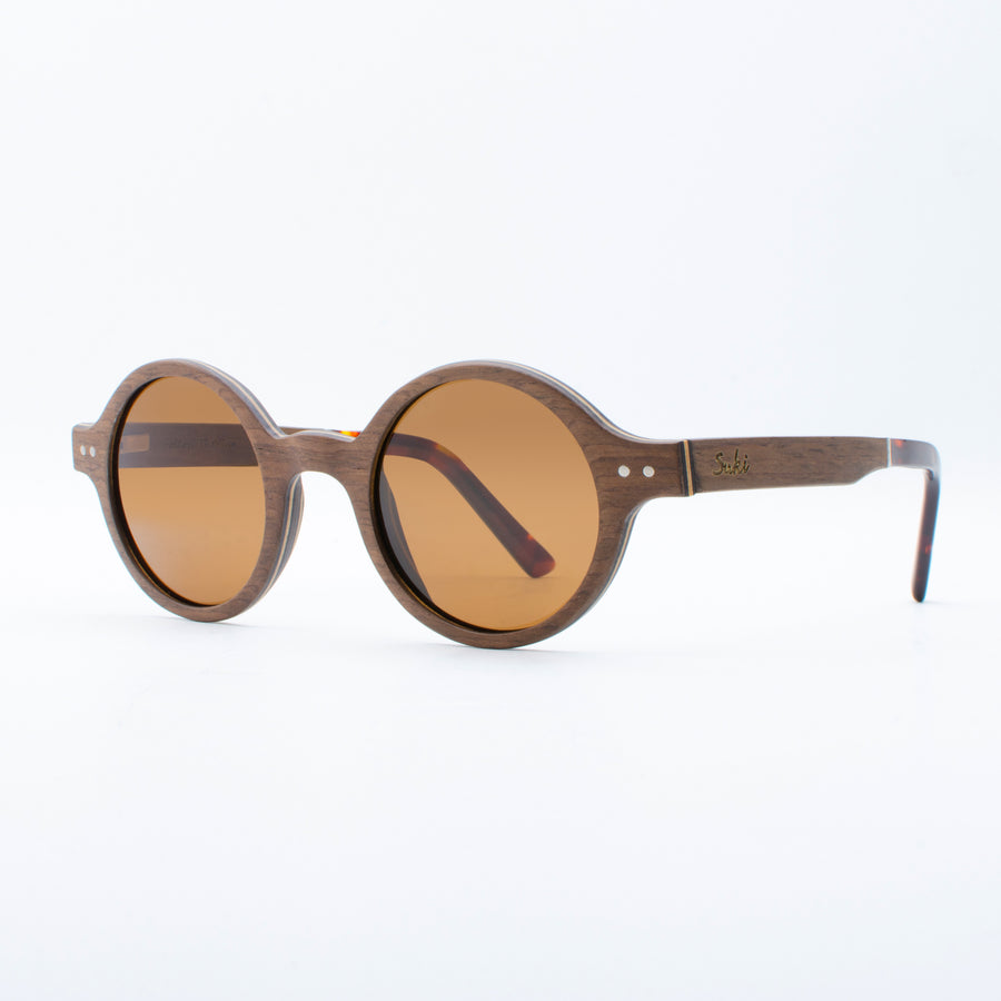 Wooden Sunglasses Bintan Walnut Suki