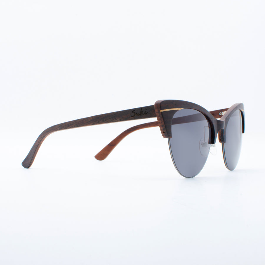 Wooden Sunglasses Canggu Ebony Suki