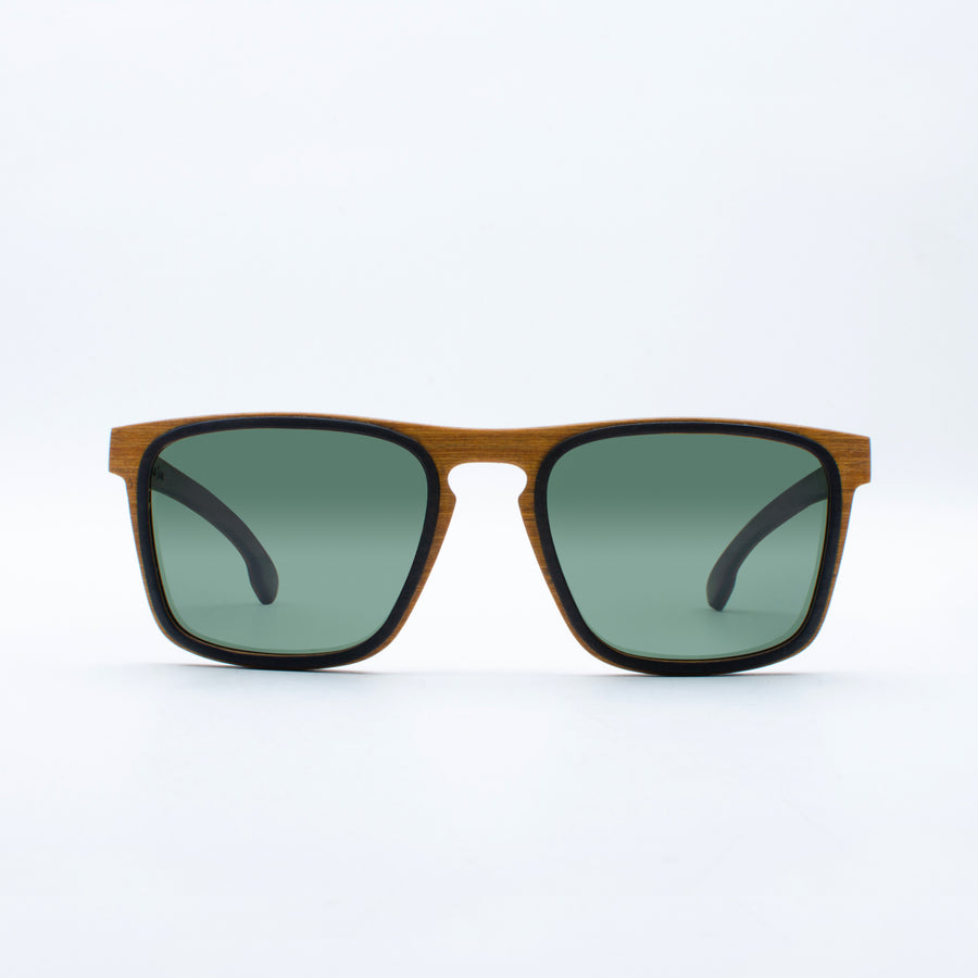 Wooden Sunglasses Damar Goldwood Suki