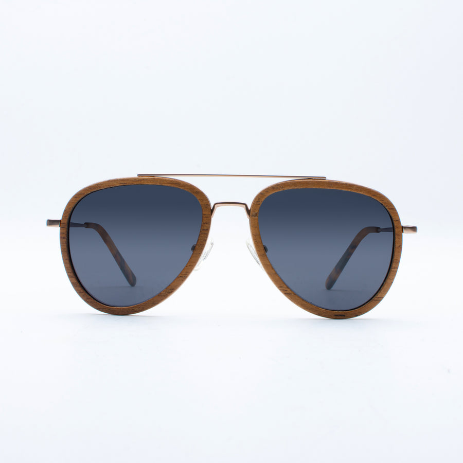 Wooden Sunglasses Gusti Teakwood Suki