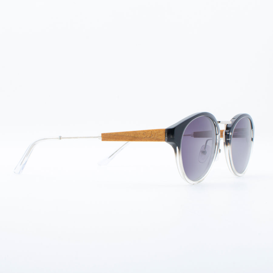 Wooden Sunglasses Kiran Black Suki