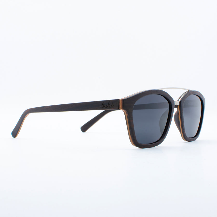 Wooden Sunglasses Komodo Ebony Suki