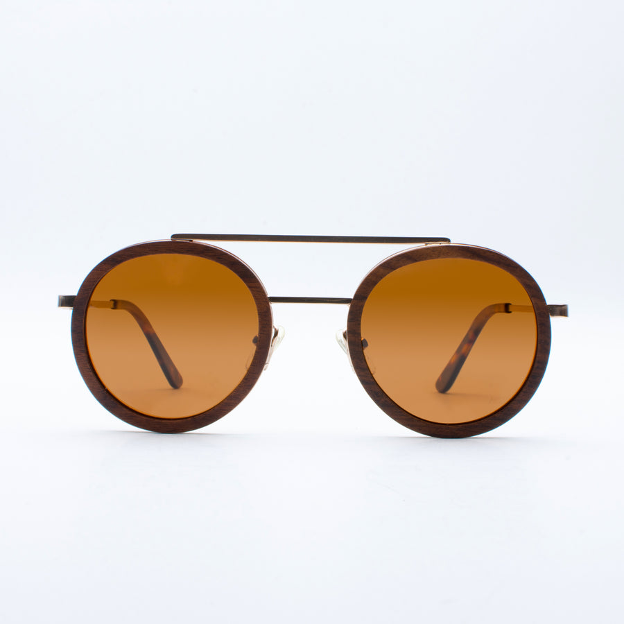 Wooden Sunglasses Meno Teakwood Suki