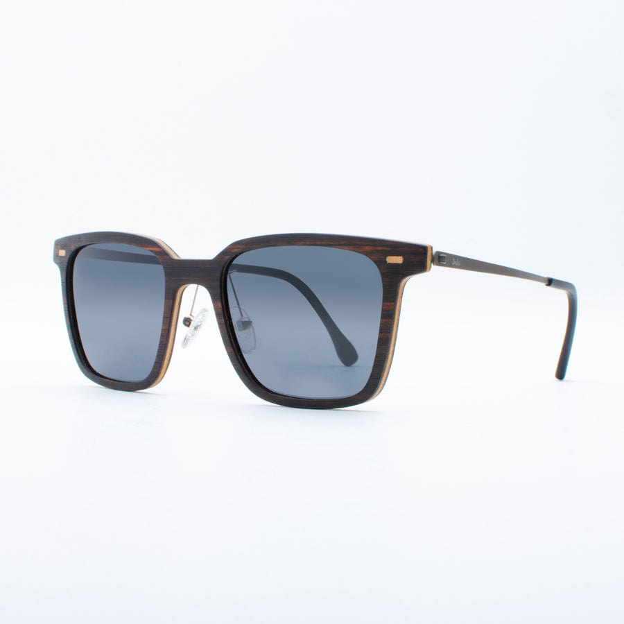 Wooden Sunglasses Pandawa Ebony Suki