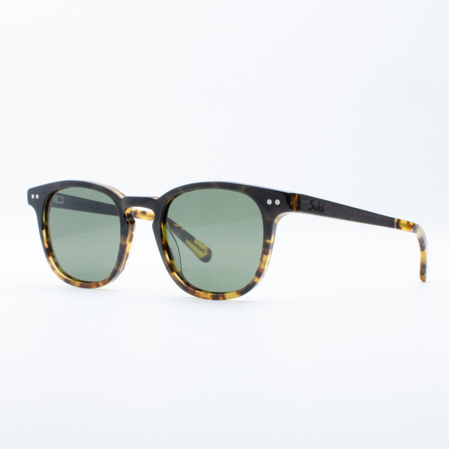 Wooden Sunglasses Putu Black Tortoise