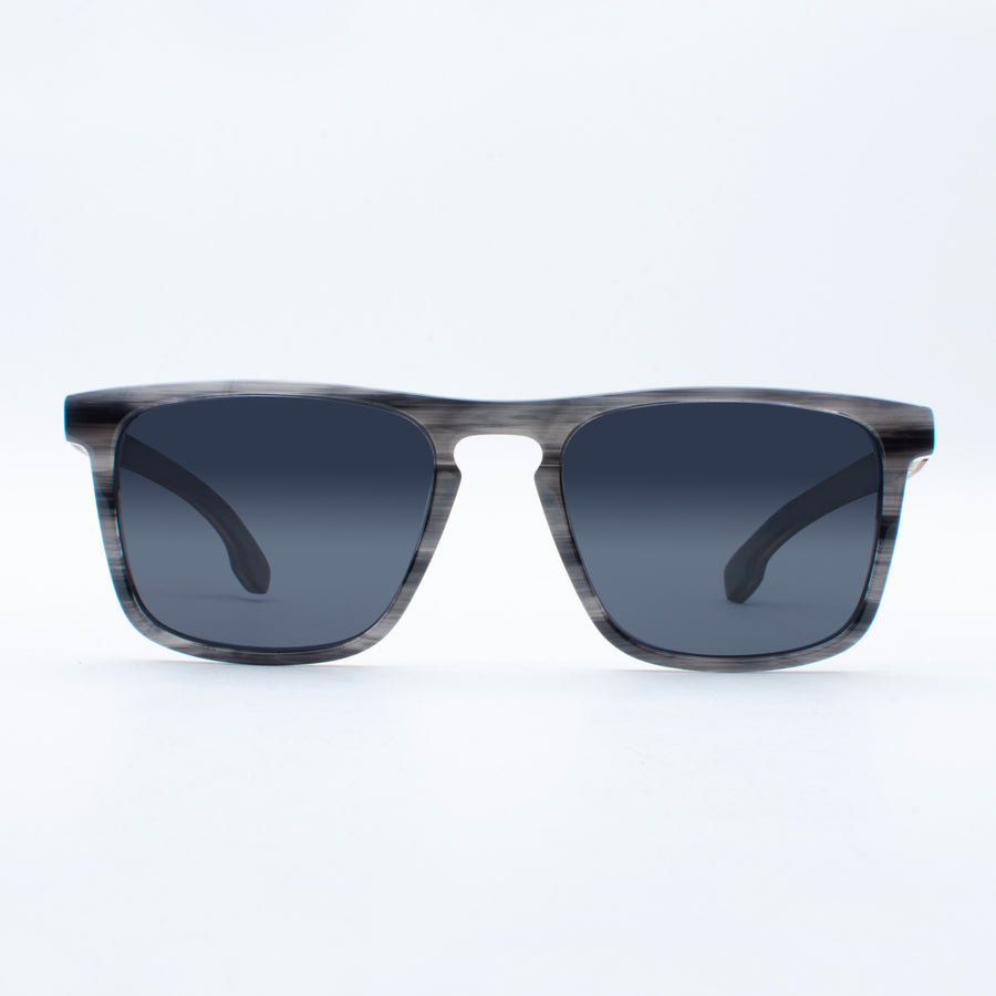 Wooden Sunglasses Shakti Grey Suki