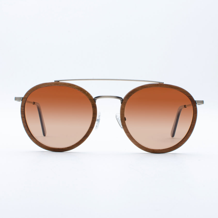 Wooden Sunglasses Yak Walnut Suki