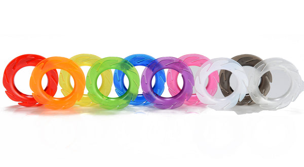 ON SALE! Celebrating ALL the colors of the human rainbow...The LOOP Earbud Holder 10-Pack