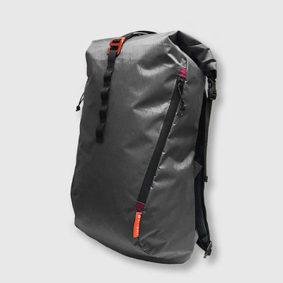 27L Alpine Commuter // Grey and Burgundy