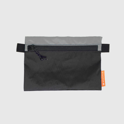 Odds and Ends Pouch // Black and Grey