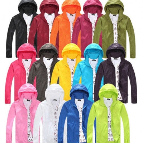 Hiking Jackets Outdoor Windbreaker Waterproof Sun & UV protection Quick-dry