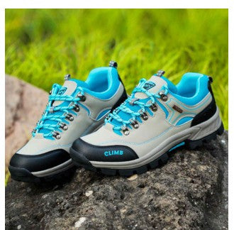 Waterproof Hiking Shoes Men Women Breathable Brand Shoes