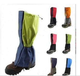 Outdoor Hiking Climbing Trekking Snow Legging Gaiters 1Pair Waterproof