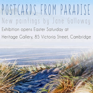 Postcards from Paradise - New Paintings by Jane Galloway