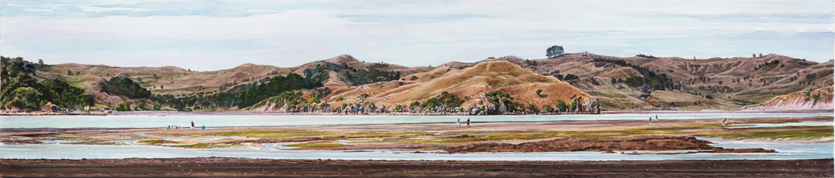 Shellfish Gatherers, Raglan Harbour