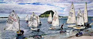 P's, Q's & Optimists, Sailing Dinghies, Mt Maunganui