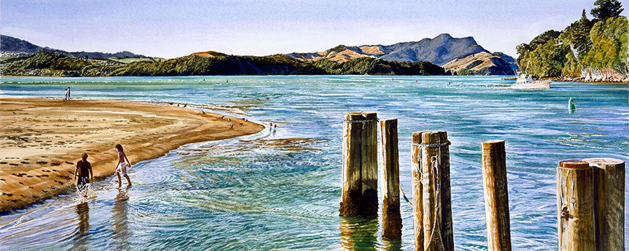 Summer's end, Whitianga Harbour