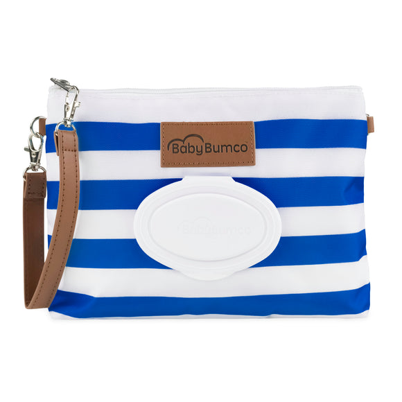Nautical Diaper Clutch