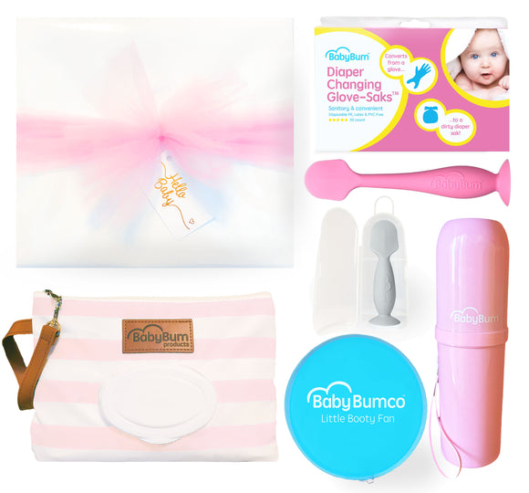 Girl Baby Bumco Box Gift Set