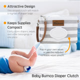 Diaper Clutch + Mini Baby Bum Brush Combos