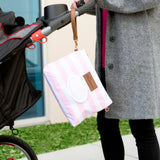 Sweet Pink Diaper Clutch