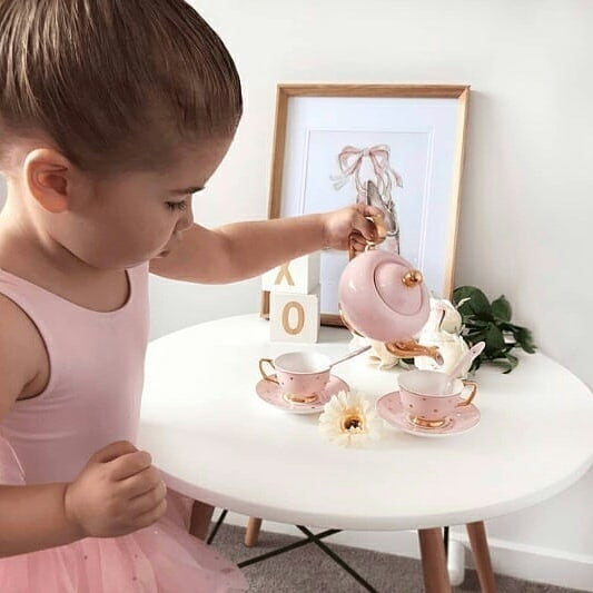 Cristina Re Petite Tea Set Blush