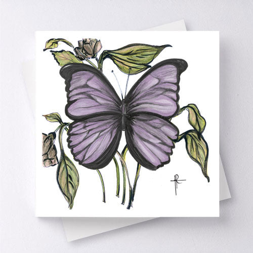 Papillon - Purple
