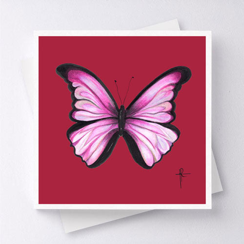 Mariposa - Dark Red