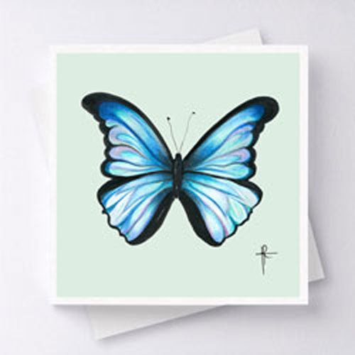 Mariposa - Light Blue