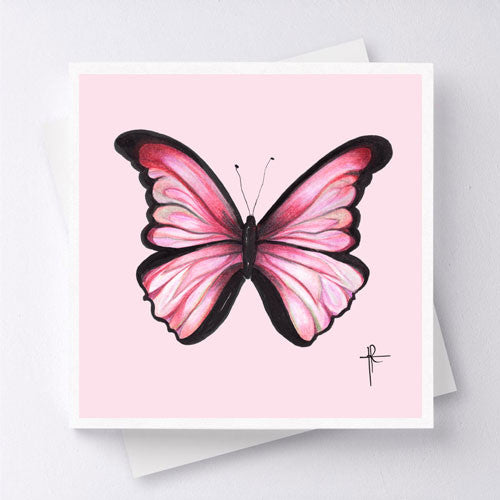 Mariposa - Light Red