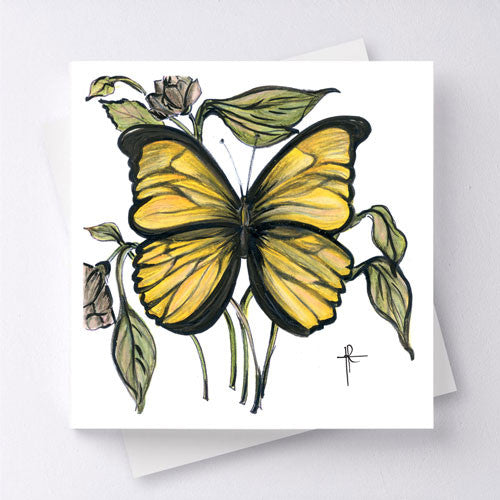 Papillon - Yellow