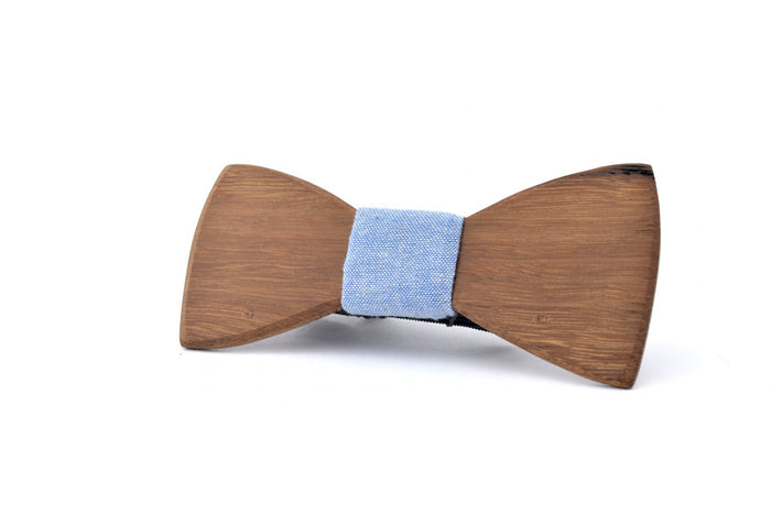 FINN WOODEN BOW TIE – ROASTED BLACKBUTT