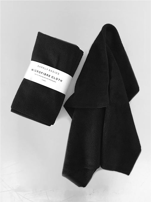 BLACK MICROFIBRE CLOTH