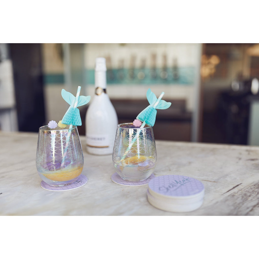 COCKTAIL GLASSES STEMLESS | MAGICAL SEA
