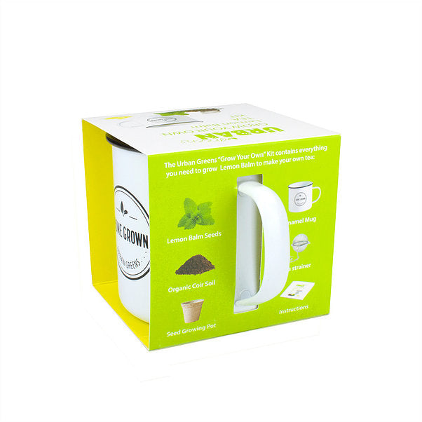 GROW YOUR OWN LEMON BALM TEA GROW KIT