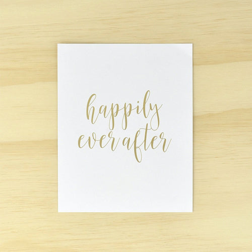 "Foil Print ""Ever After"" - Eternal"