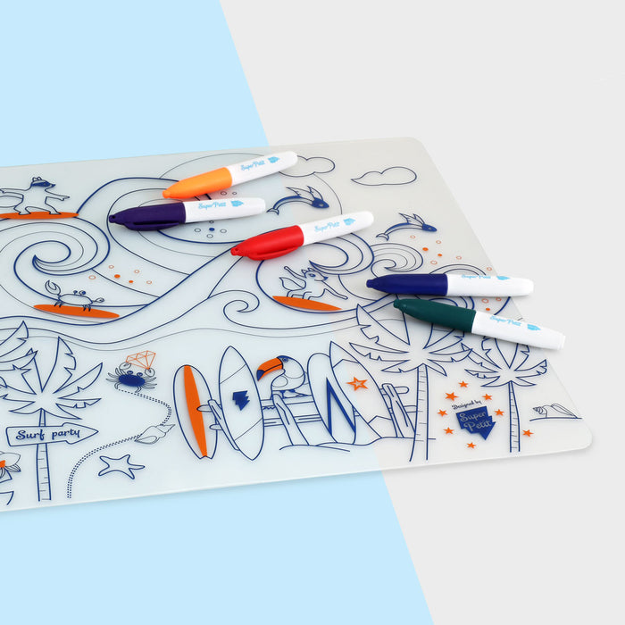 Table mat set - Surf Party