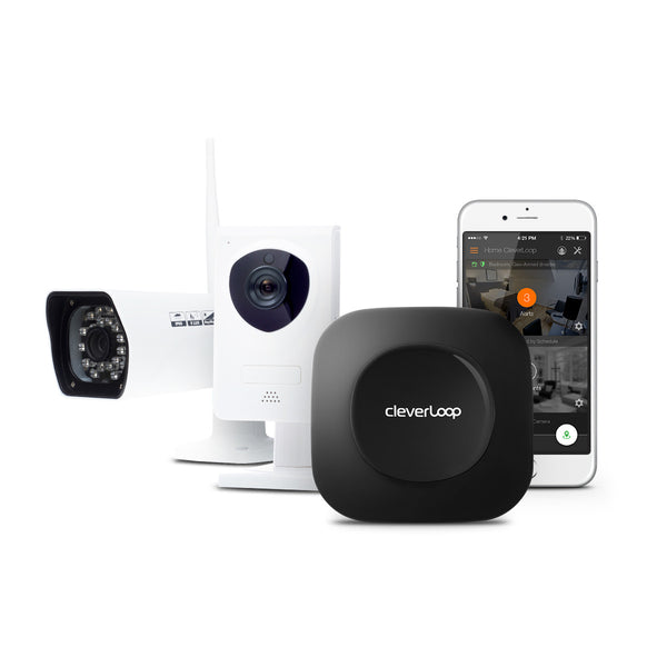- SOLD OUT - CleverLoop Security System: 1 Base Station with 2 Cameras