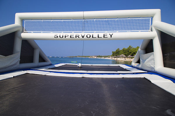 Inflatable Volleyball setup