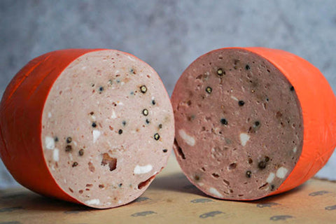 Mortadella with Peppercorns