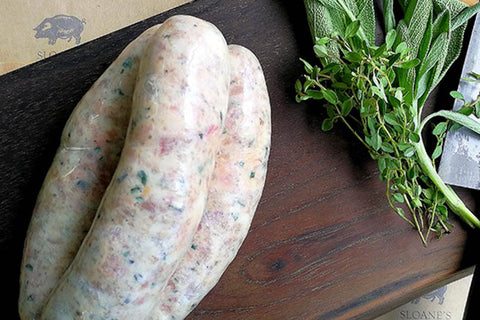 Maple & Smoked Bacon Sausage