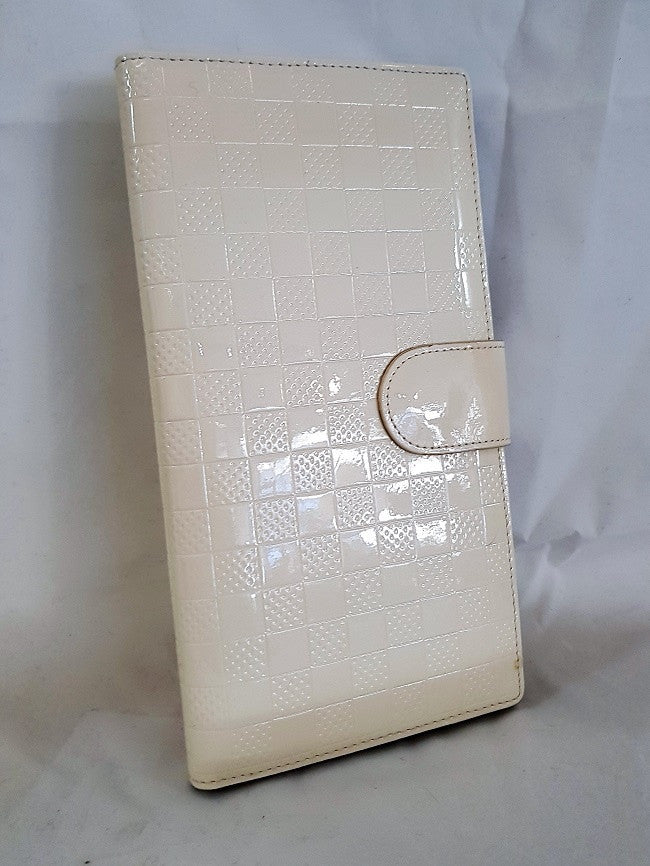 White Slim Wallet by Vera May