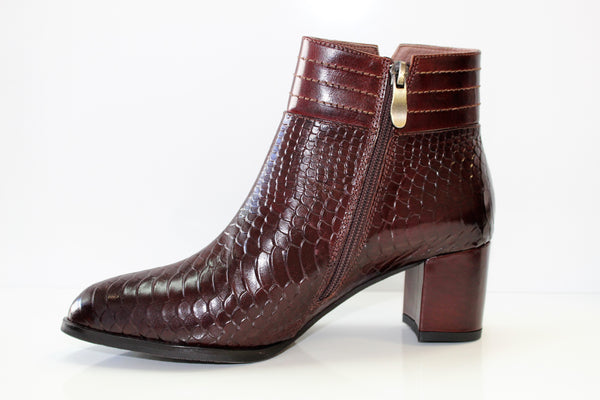 May Leather Dress Boot by Paulo Ricci
